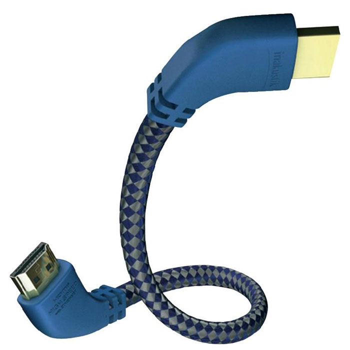 Inakustik Premium 90° кабель HDMI, 1 м (0042501) - Кабели и переходники