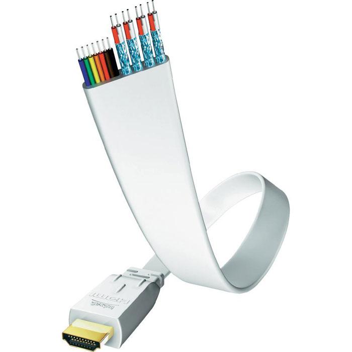 Inakustik Premium Flat кабель HDMI, 0,75 м (00423407) - Кабели и переходники