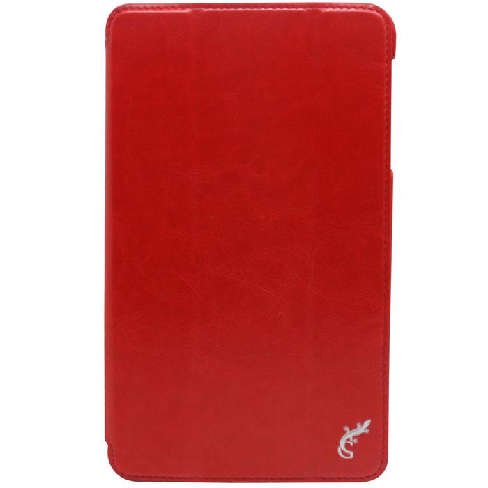G-case Slim Premium чехол для Samsung Galaxy Tab Pro 8.4, RedGG-286Чехол G-case Slim Premium для Samsung Galaxy Tab Pro 8.4 выполнен из высококачественной кожи и служит для защиты планшета от царапин,пыли и падений, а также надежно фиксирует ваш гаджет, практически не утолщая его. В чехле G-Case Slim Premium все технические отверстия (под кнопкиуправления, разъем подключения гарнитуры, камеру) в точности выполнены по размерам и местоположению.