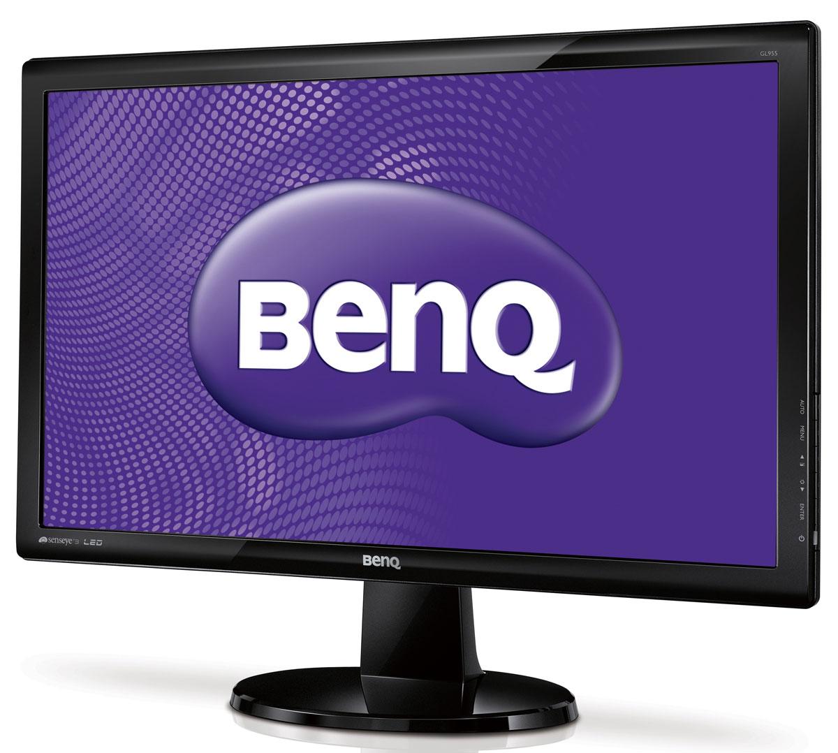 BenQ GL955A, Glossy Black монитор9H.L94LA.T8E /9H.L94LB.Q8EДобавьте ярких красок в вашу жизнь с монитором BenQ GL955A.Преимущества LED подсветки:Использование в мониторах LED подсветки дает ощутимые преимущества по сравнению с обычно используемой CCFL подсветкой. Эти преимущества включают наряду с высоким уровнем динамической контрастности, отсутствием белесой засветки и мерцания, также и снижение вредных выбросов в атмосферу при производстве мониторов и их переработке.Потрясающий уровень динамической контрастности:Уровень динамической контрастности монитора GL955A составляет 12 000 000:1, что позволяет кардинально улучшить качество изображения и увидеть даже мельчайшие детали в самых темных и сложных визуальных сценах. Все оттенки - от самого черного до самого белого - передаются с потрясающей четкостью, создавая по-настоящему насыщенное изображение.Технология Senseye:Благодаря эксклюзивной технологии BenQ Senseye, которая позволяет настроить изображение по 6 параметрам, монитор BenQ GL955A обеспечивает отображение живых, насыщенных цветов. Пять предустановленных режимов отображения (Стандартный, Кино, Игра, Фото, sRGB) помогут оптимально настроить картинку нажатием одной кнопки. Дополнительный режим Эко поможет сократить энергопотребление.Сертификация Windows 7:Монитор BenQ GL955A полностью готов для работы с новейшей операционной системой Microsoft Windows 7 и имеет соответствующий сертификат. Просто подключите монитор BenQ GL955A к ПК с установленной Windows 7 и операционная система автоматически настроит изображение для наилучшего отображения.