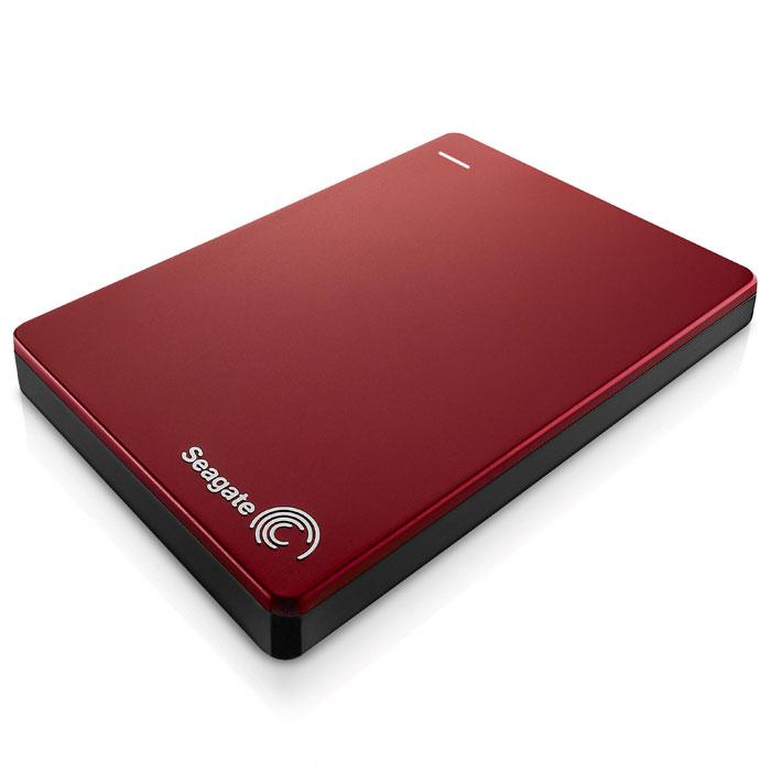 Seagate Backup Plus Portable Slim 2TB USB3.0, Red (STDR2000203) внешний жесткий дискSTDR2000203