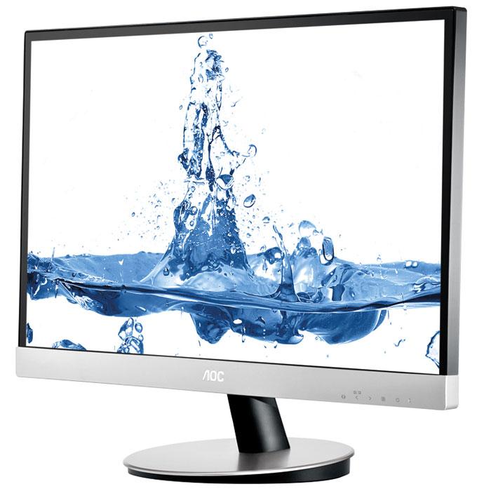 """AOC I2369VM/01, Silver Black мониторI2369VM/01Full HD монитор AOC I2369VM с диагональю 58,4 см (23"""") - эталон качества для дисплеев IPS-матрицей. Он отличается не только стильным дизайном, но и наличием широкого спектра интерфейсов, включая разъем D-Sub, два порта HDMI и гнездо DisplayPort. Благодаря поддержке MHL-интерфейса к нему можно напрямую подключать совместимые мобильные устройства под управлением ОС Android. Среди преимуществ IPS-матриц: яркие цвета, а также стабильность цветопередачи в широком диапазоне углов обзора. До недавнего времени дисплеи на основе таких панелей, в основном, использовали профессионалы и компьютерные энтузиасты, однако недорогой монитор i2369Vm доказывает, что теперь данная технология и высокие стандарты качества изображения становятся общедоступными. Модель имеет высокую максимальную яркость, достигающую 250 кд/м2, уровень контрастности 1000:1 (динамическая контрастность: 50 000 000:1) и время отклика 6 мс."""
