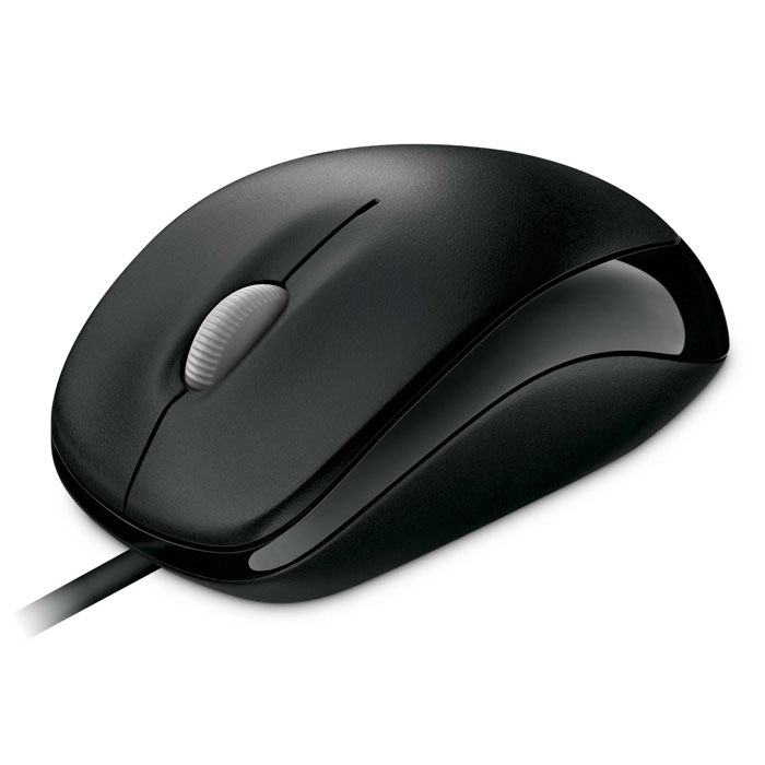 Microsoft Compact Optical Mouse 500, Black мышь