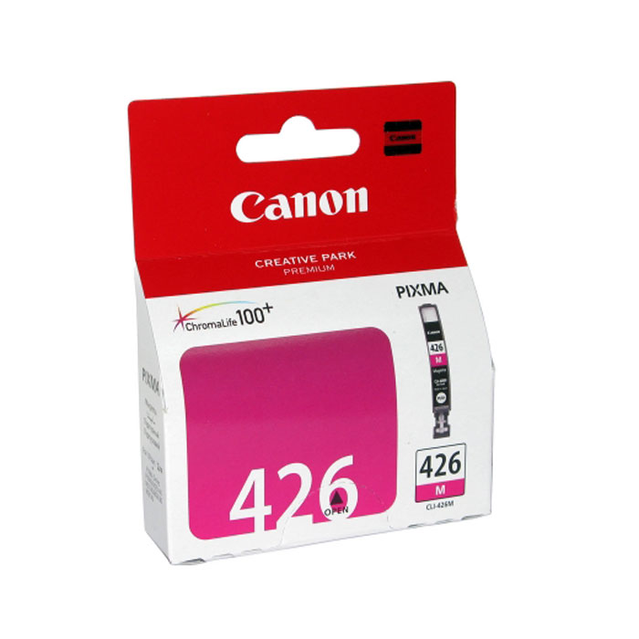 Canon CLI-426M картридж, Purple4558B001Картридж с чернилами Canon CLI-426 предназначен для струйных принтеров Canon. Ресурс чернильниц сильно зависит от содержания печатаемого документа и установленного качества печати.