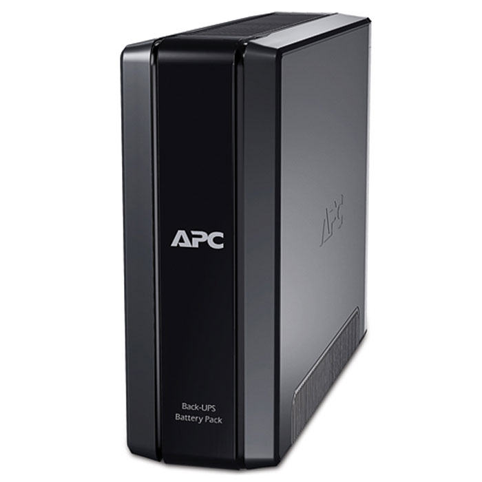 APC BR24BPG Back-UPS Pro ИБПBR24BPGВнешняя батарея APC BR24BPG подключается к задней панели ИБП серии 1500VA Back-UPS Pro. Это подключение приблизительно втрое увеличивает время работы, которое могут обеспечивать стандартные ИБП данного модельного ряда.
