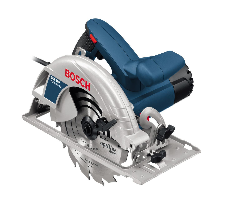 Ручная циркулярная пила Bosch GKS 190 Professional  ручная циркулярная пила bosch gks 190 professional