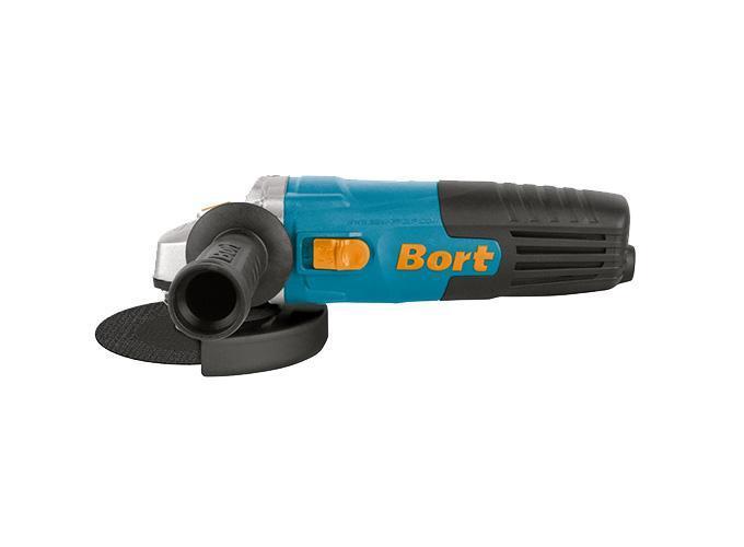 Шлифмашина угловая Bort BWS-600UBWS-600U BlueМашина шлифовальная угловая Bort BWS-600U применяется в ремонте и строительстве для выполнения шлифовальных и отрезных работ по камню и металлу. Инструмент прост в обслуживании и управлении. Блокировка шпинделя обеспечивает быструю и удобную смену диска. Фиксация выключателя для продолжительной работы. Выполнение работы в условиях ограниченного пространства. Удобная рукоятка предотвращает скольжение инструмента в руке, обеспечивая удобство в работе.