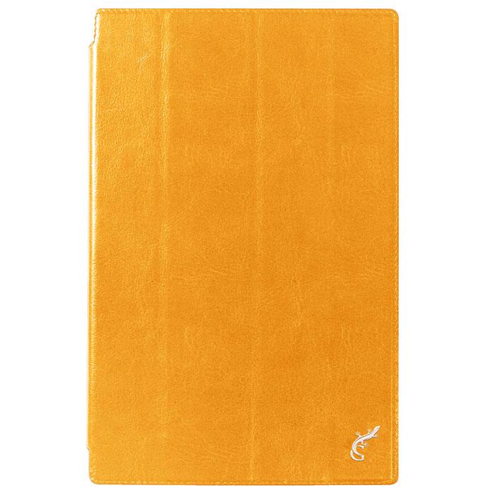 G-case Slim Premium чехол для Sony Xperia Tablet Z2, OrangeGG-311Чехол G-case Slim Premium для Sony Xperia Tablet Z2 выполнен из высококачественной кожи и служит для защиты планшета от царапин, пыли и падений, надежно фиксирует ваш гаджет, практически не утолщая его. В чехле G-Case Slim Premium все технические отверстия (под кнопкиуправления, разъем подключения гарнитуры, камеру) в точности выполнены по размерам и местоположению.