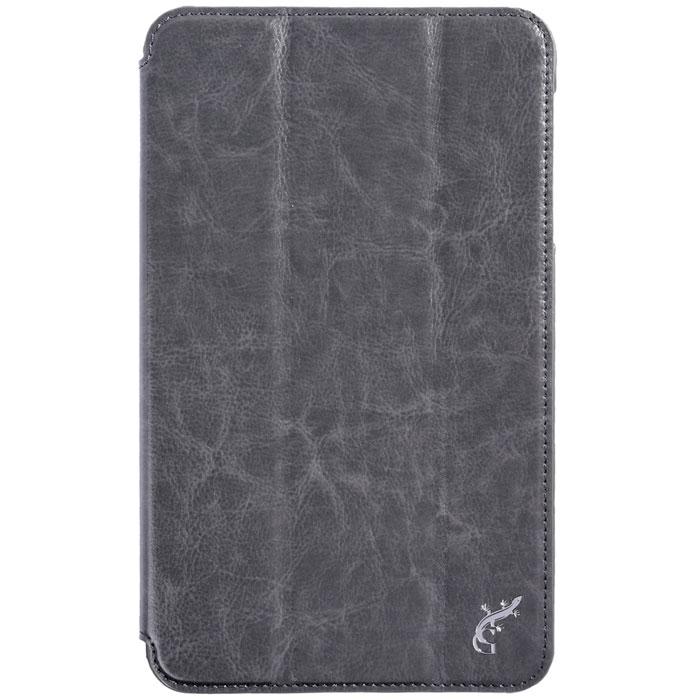 G-case Slim Premium чехол для Samsung Galaxy Tab 4 8.0, SilverGG-365Стильный чехол-книжка G-case Slim Premium для Samsung Galaxy Tab 4 8.0 представляет собой очень полезный аксессуар,основная функция которого защищать планшет от неблагоприятных внешних воздействий. Он выполнен в очень элегантном стиле из высококачественной кожи. Чехол поможет при ударах и падениях, смягчая удары, не позволяя образовываться на корпусе царапинам и потертостям. Он идеально повторяет формы планшета и при этом надежно защищает каждую грань устройства. Все разъемы остаются свободны, а доступ к экрану осуществляется легким движением руки. Кроме того, чехол G-Case Slim Premium можно использовать в качестве двухпозиционной подставки.