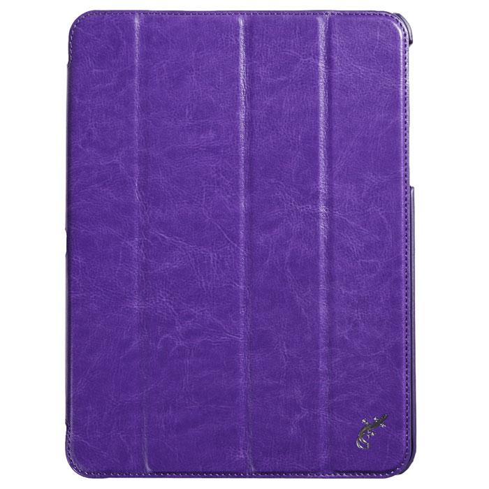 G-case Slim Premium чехол для Samsung Galaxy Tab 4 10.1, VioletGG-376Стильный чехол-книжка G-case Slim Premium для Samsung Galaxy Tab 4 10.1 представляет собой очень полезный аксессуар,основная функция которого защищать планшет от неблагоприятных внешних воздействий. Он выполнен в очень элегантном стиле из высококачественной кожи. Чехол поможет при ударах и падениях, смягчая удары, не позволяя образовываться на корпусе царапинам и потертостям. Он идеально повторяет формы планшета и при этом надежно защищает каждую грань устройства. Все разъемы остаются свободны, а доступ к экрану осуществляется легким движением руки. Кроме того чехол G-Case Slim Premium можно использовать в качестве двухпозиционной подставки.