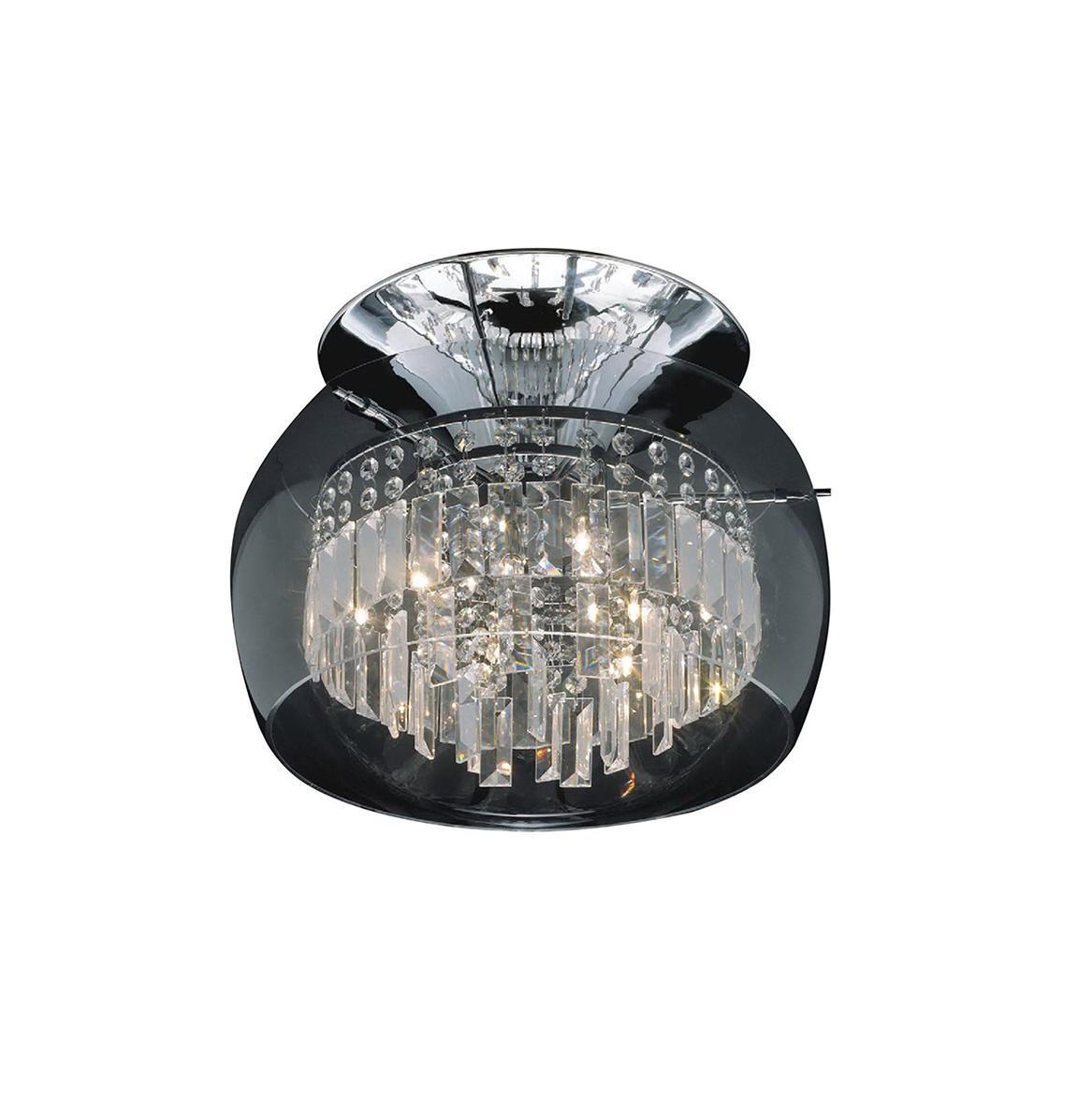 Потолочный светильник ST Luce SL760 102 06SL760 102 06Жизнь современного человека не представляется возможной без света, а роскошную, элегантную комнату обязательно должны украшать модные и стильные светильники. При помощи различных источников света можно выразительно и ярко подчеркнуть выигрышные элементы дизайнерского оформления комнаты или же, наоборот, затемнить и скрыть какие-либо детали. Кроме того, точечные светильники создадут особую атмосферу и настроение в интерьере.