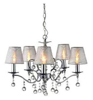 Подвесной светильник MarkSLojd GRENSHOLM 102442102442102442 Люстра подвесная, GRENSHOLM, хром-серый, E14 5*40WW