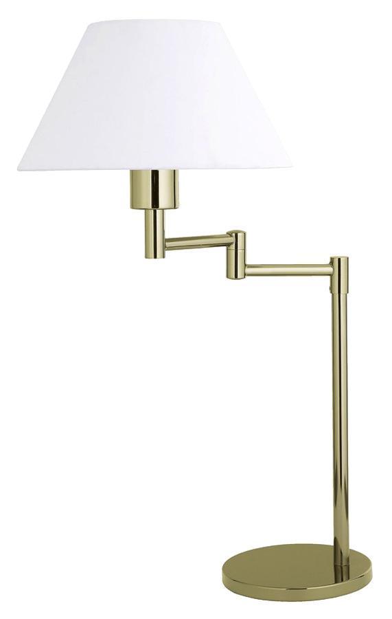 Настольный светильник LAMPGUSTAF SWING 099012099012099012 Настольная лампа, SWING, золото-белый, E27 1*60W
