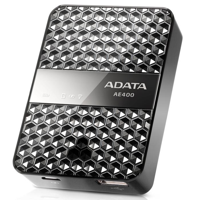 ADATA AE400 беспроводной SD картридер со встроенным зарядным устройством - Картридеры