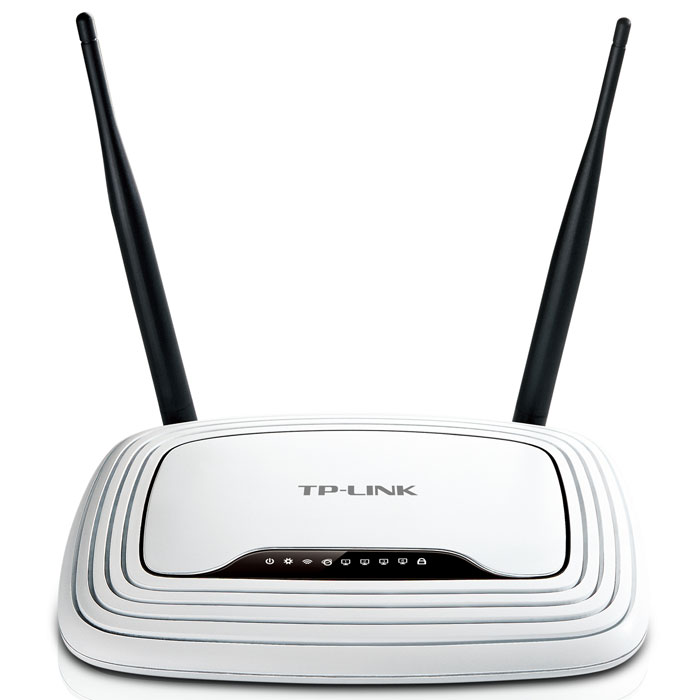 TP-Link TL-WR841N беспроводной маршрутизаторTL-WR841NБеспроводной маршрутизатор TP-Link TL-WR841N - это комбинированное проводное/беспроводное сетевое устройство, предназначенное для использования в малых и домашних офисах. Используя технологию 2T2R MIMO, TL-WR841N позволяет создать сеть со сверхвысокой скоростью передачи данных, благодаря чему возможен онлайн-просмотр видео высокой четкости,использование IP-телефонии и онлайн игры без задержек и разрывов соединения. Устройство выполнено в стильном корпусе и оснащено кнопкой WPS для быстрой установки защиты WPA2.Поддержка стандарта IEEE 802.11n позволяет установить беспроводное соединение со скоростью и дальностью сигнала, увеличенными соответственно в 15 раз и в 5 раз в сравнении с обычными устройствами на базе стандарта 11g. Помимо этого, маршрутизатор обеспечивает скорость передачи данных до 300 Мбит/с. Технология ССА (Оценка доступности канала) позволяет автоматически избежать конфликта каналов при передаче данных, благодаря чему существенно повышается производительность вашего беспроводного соединения.Маршрутизатор TL-WR1042ND поддерживает технологию WI-FI Protected Setup (WPS), которая позволяет мгновенно установить защиту беспроводной сети одним нажатием кнопки WPS, после чего для беспроводной сети будет автоматически установлена защита WPA2 (более надежная по сравнению с шифрованием WEP). Загрузки внутренних пользователей ибеспорядочный просмотр сайтов часто загружают вашу беспроводную сеть, препятствуя ее эффективной работе. TL-WR841N поддерживает функцию IP QoS, которая обеспечивает оптимальное и равномерное распределение потока данных для каждого приложения. Таким образом, можно ограничить менее важные приложения, перегружающие сеть.QoS (приоритезация трафика): WMM, контроль за пропускной способностьюРодительский контроль, местный контроль, список хостов, расписание доступа, управление правиламиСетевая безопасность (firewall): DoS, SPI брандмауэрФильтрация по IP адресам, фильтрация по MAC адресам, фильтр 