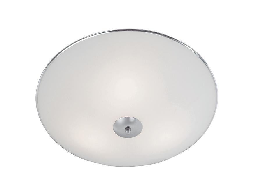 Настенно-потолочный светильник MarkSLojd ALBI 137044-458412137044-458412137044-458412 Светильник настенно-потолочный, ALBI, матовое стекло, хром, E14 2*40WW