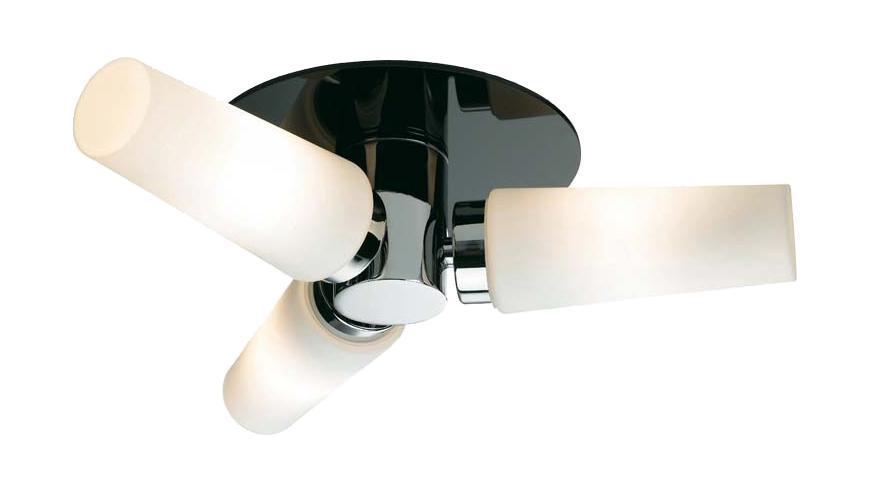 Настенно-потолочный светильник MarkSLojd MANSTAD 103090103090103090 Светильник настенно-потолочный, MANSTAD, хром черный-опал, E14 3*40WW