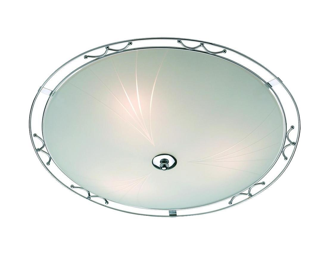Настенно-потолочный светильник MarkSLojd COLIN 150444-497812150444-497812150444-497812 Светильник настенно-потолочный, COLIN, хром-матовое стекло, E14 3*40WW