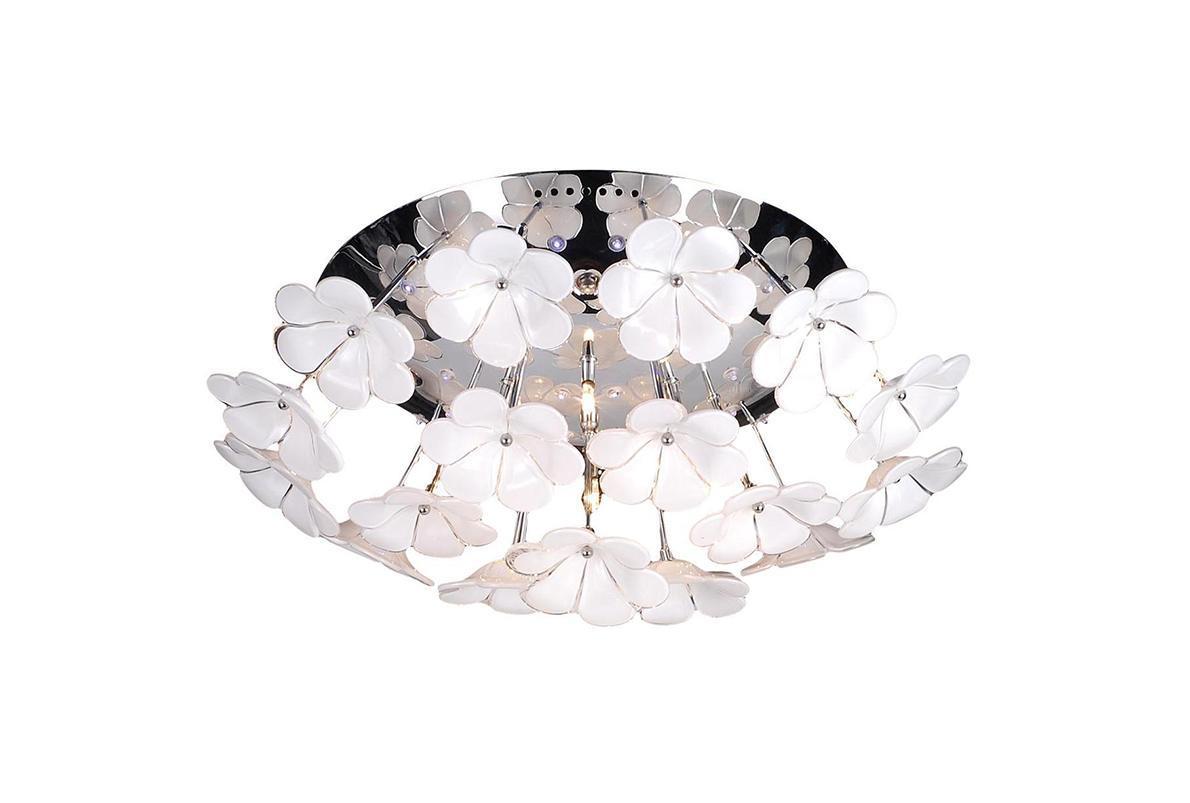 Потолочный светильник ST Luce SL729 102 12SL729 102 12Жизнь современного человека не представляется возможной без света, а роскошную, элегантную комнату обязательно должны украшать модные и стильные светильники. При помощи различных источников света можно выразительно и ярко подчеркнуть выигрышные элементы дизайнерского оформления комнаты или же, наоборот, затемнить и скрыть какие-либо детали. Кроме того, точечные светильники создадут особую атмосферу и настроение в интерьере.