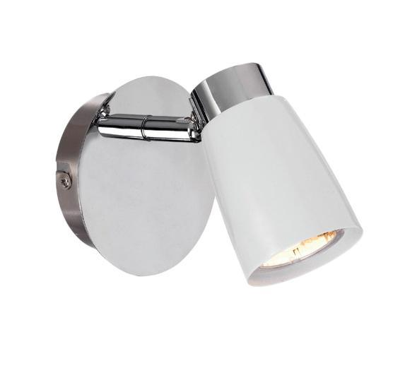 Бра MarkSLojd VEDDIGE 103048103048103048 Светильник настенный, VEDDIGE, белый-хром, GU10 1*7WW