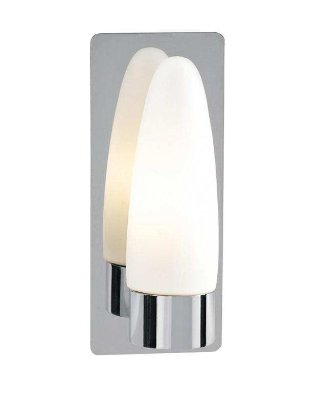 Бра MarkSLojd BUFFY 253144-502612253144-502612253144-502612 Светильник настенный, BUFFY, сталь-белое стекло, E14 1*40WW