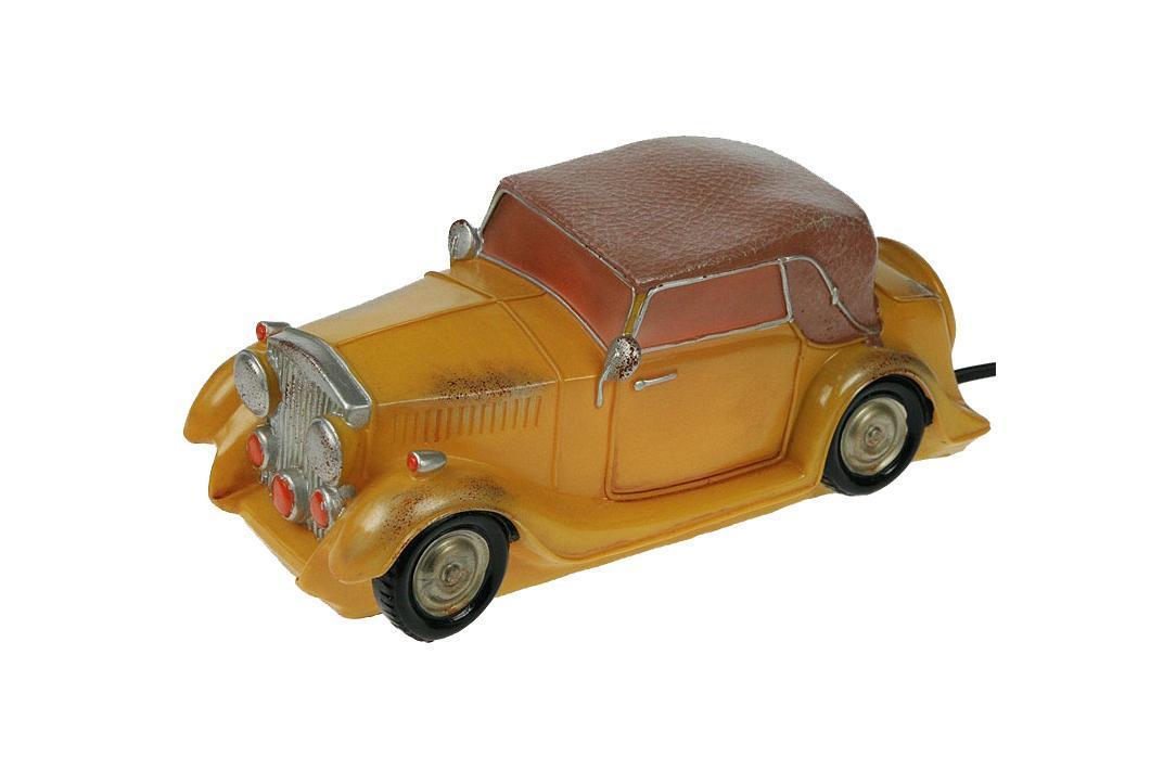 Декоративный светильник Win Max Ent. Ретро авто 26*12*10 см.27065Светильник Ретро авто 26*12*10 см Материал: полистоун, эл. металла; цвет: жёлтый; размеры: 26*12*10