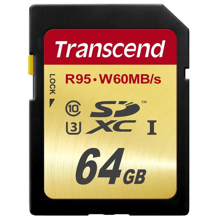 Transcend SDXC Class 10 UHS-I U3 64GB карта памятиTS64GSDU3Карты памяти Transcend SDXC UHS-I Speed Class 3 (U3) способны с легкостью справиться с потоками данных, генерируемыми цифровыми камерами, совместимыми со стандартом UHS-I. Благодаря рекордным скоростям чтения и записи, которые достигают 95 и 60 МБ/с, соответственно, они позволяют записывать видео сверхвысокого разрешения 4K и существенно сэкономить время, требуемое на переписывание видео на компьютер. Встроенная технология ECC позволяет обнаруживать и исправлять ошибки при передаче данных.Эксклюзивная программа RecoveRx обеспечивает надежное восстановление удаленных и утраченных данных с портативных носителей.Внимание: перед оформлением заказа, убедитесь в поддержке Вашим электронным устройством карт памяти данного объема.