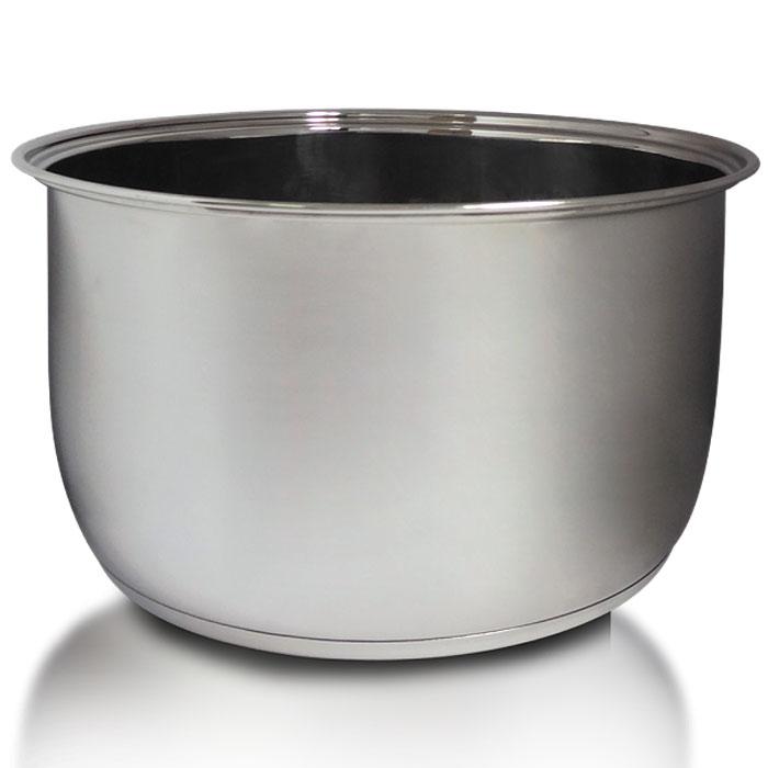 Redmond RB-S400 чаша для мультиваркиRB-S400Чаша Redmond RB-S400 объемом 4 л выполнена из высококачественной нержавеющей стали и практически не боится механических повреждений и коррозии. RB-S400 очень удобна как дополнительная чаша к мультиварке REDMOND для приготовления супов, в том числе крем-супов и супов-пюре - ведь в такой емкости вы можете взбивать содержимое блендером, совершенно не опасаясь повредить внутреннее покрытие. Кроме того, ее можно мыть в посудомоечной машине.