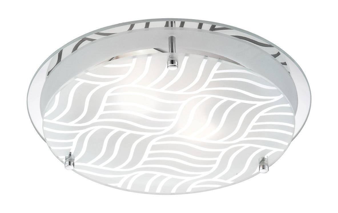 48160-2 Потолочный светильник MARIE48160-2Светильник Globo 48160-2 из серии MARIE – стильный круглый настенно-потолочный светильник в стиле модерн на металлической матовой основе с полимерным узорчатым плафоном