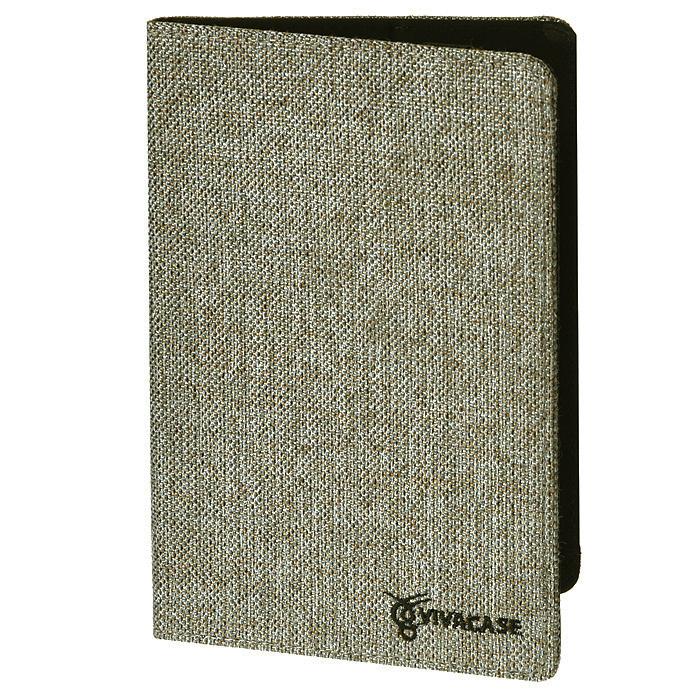Vivacase Jacquard универсальный чехол-обложка для планшетов 7, Gray (VUC-CJ007-gr)VUC-CJ007-grУниверсальный чехол Viva Jacquardподходит для любых популярных планшетов и электронных книг с диагональю дисплея 7 дюймов. Он изготовлен из стильной ткани жаккард, которой обтянут прочный каркас, защищающий устройство во время падений. Внутренняя часть отделана мягкой подкладкой, которая не оставляет никаких следов на корпусе и дисплее. Крепление PVS позволяет надежно зафиксировать устройство. Также чехол имеет возможность установки планшета под двумя разными углами для удобного набора текста или просмотра видео. В закрытом положении чехол удерживает широкая резинка черного цвета.