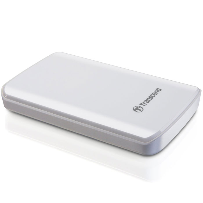 Transcend StoreJet 25D3 1TB, White внешний накопитель (TS1TSJ25D3W) - Носители информации