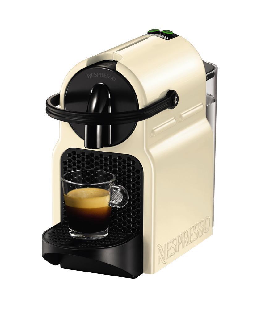 DeLonghi EN 80.CW Nespresso, Beige кофеваркаEN 80 CWОна отлично подойдет для офиса. Включите кофемашину, и уже через 25 секунд готов крепкий эспрессо или мягкий лунго.