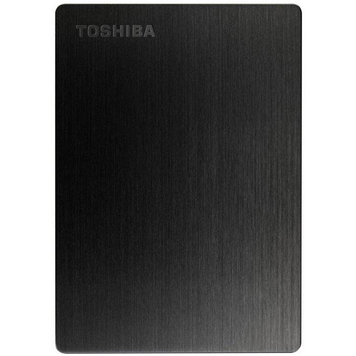 Toshiba Stor.E Slim 1TB, Black внешний накопитель (HDTD210EK3EA)HDTD210EK3EAБлагодаря системе блокировки паролем, имеющейся на внешнем жёстком диске Toshiba Stor.E Slim, вы можете не бояться за сохранность ваших данных. Его элегантный, тонкий и лёгкий дизайн делает его отличным спутником для вашего Mac. Благодаря совместимости с Apple Time Machine вы можете легко создавать резервные копии ваших данных. А благодаря порту USB 3.0 Вы моментально можете перекачивать файлы. Также вы будете иметь возможность удалённого доступа к вашим данным.Файловая система: NTFSВозможность переформатирования в HFS+ для MacПоддерживаемые ОС: Windows XP / Vista / 7 / 8 / 8.1; Apple Mac OS X 10.6.6 / 10.6.7 / 10.6.8 / 10.7 / 10.8