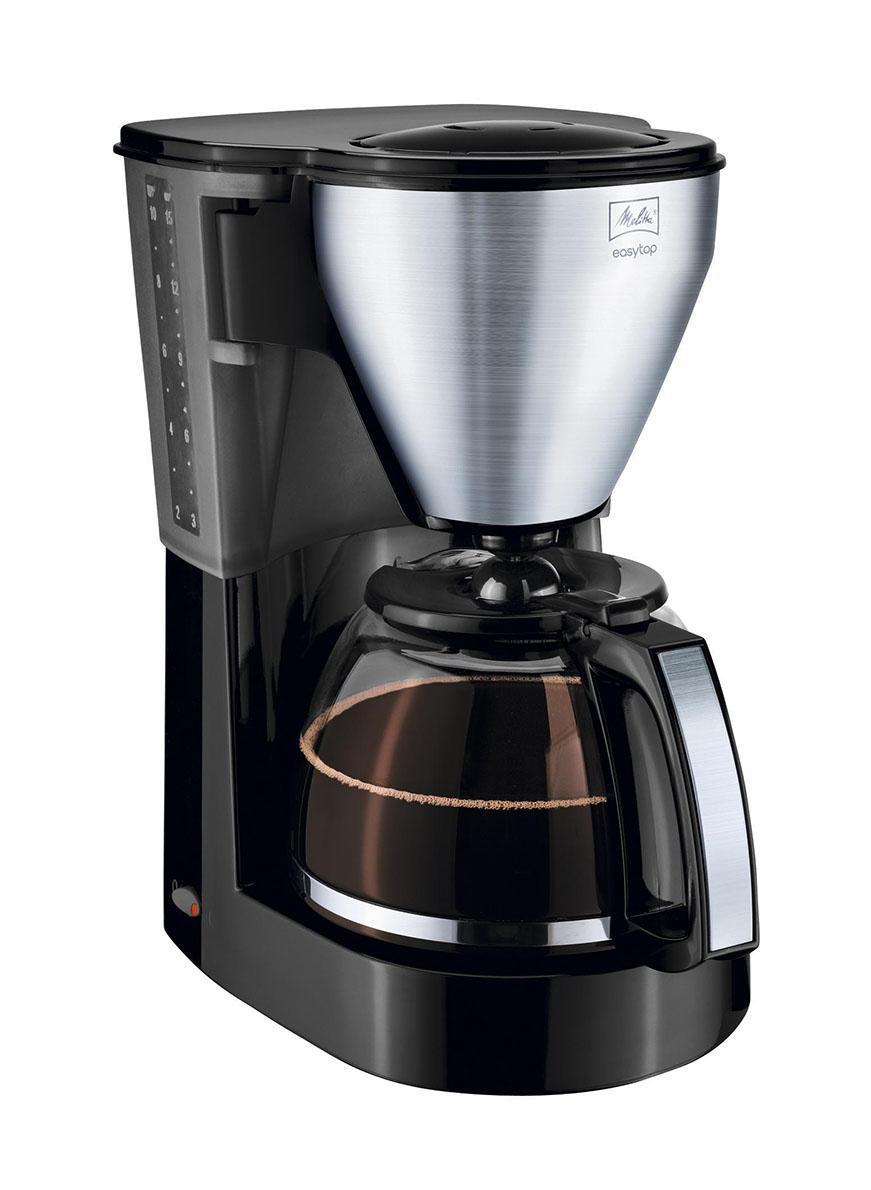Melitta Easy Top, Black Stainless Steel кофеваркаEasy Top black SST