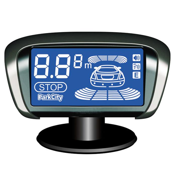 ParkCity Kiev 818/302L, Silver парковочный радар00000007535Парковочный радар ParkCity Kiev – это прибор, который контролирует пространство позади автомобиля и впереди него. Он оперативно сигнализирует о приближении к препятствию, в случае его возникновения на пути движения. Возможно это благодаря тому, что система парктроника оборудована 8 ультразвуковыми датчиками, которые отличаются очень высокой чувствительностью и реагируют на появление потенциально опасной преграды, расположенной на расстоянии 2.5 м – 30 см. Точность измерения достаточно высокая и равняется 10 см. Датчики размещаются на заднем и переднем бамперах, по 4 штуки на каждый. Парковочная система ParkCity Kiev имеет компактный жидкокристаллический LCD дисплей. На нем отображается детальная информация, необходимая водителю для своевременного и правильного реагирования. На дисплее фиксируется месторасположение преграды, расстояние, которое осталось до возможного столкновения с ней. Также водитель может получить представление о габаритах возникшего препятствия. Для повышения эффективности функционирования прибора и увеличения оперативности оповещения о приближении к определенному объекту, парковочный радар ParkCity Kiev оборудован функцией звукового и голосового оповещения. Водитель имеет возможность выбрать тип сигнала. Это может быть звук или голосовой сигнал на русском языке, предупреждающий о приближении к препятствию. Также можно отрегулировать громкость звучания сигнала. Возможный диапазон интенсивности звучания бипера – 70-90 дБ. Система парктроника ParkCity Kiev автоматически начинает работать после нажатия на тормоз, а также после включения задней передачи. Наличие этой функции значительно повышает практичность и простоту использования данного прибора. Важным моментом является и то, что парковочный радар этой марки имеет функцию автотестирования. Она обеспечивает проверку состояние всех датчиков перед каждой поездкой, что гарантирует высокий уровень безопасности. Благодаря хорошей изоляции провод