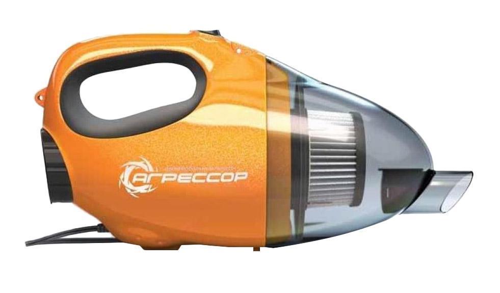 Автомобильный пылесос Агрессор AGR-110H, с функцией обдува, 8 насадок, 12В, 100ВтAGR-110H 2in1В устройстве используется высокоэффективный фильтр «Хепа». Благодаря специальной форме поверхности, он закручивает поток всасываемого воздуха в спираль. Такая конструктивная особенность повышает качество очистки и обеспечивает стабильную силу всасывания. Гофрированная конструкция фильтра увеличивает его рабочую поверхность и воздухопроницаемость, а высокая плотность фильтрующего материала позволяет улавливать даже самые мелкие частицы.Питание пылесоса осуществляется от прикуривателя автомобиля. В комплекте с изделием идут 2 удлинителя, 3 насадки и комплект насадок разного диаметра для обдува, которые позволяют выбрать нужную силу потока выдуваемого воздуха.Многофункциональный автомобильный пылесос AGR-110H из серии «Агрессор» обладает возможностью воздушного обдува. Это позволяет удалять грязь и пыль не только засасыванием, но и сдуванием, что особенно эффективно при очистке поверхностей сложной конфигурации.