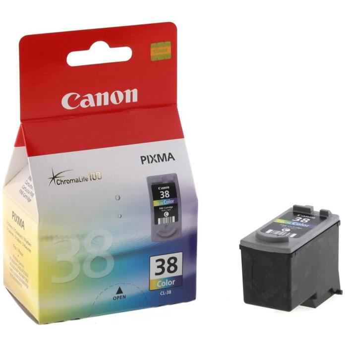 Canon CL-38CMY цветной картридж для струйных МФУ/принтеров2146B005Canon CL-38 - оригинальный картридж от Canon для струйных МФУ и принтеров.