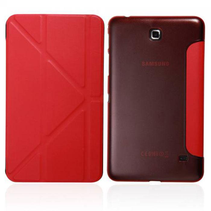 IT Baggage Hard Case чехол для Samsung Galaxy Tab 4 7, RedITSSGT4701-3Чехол IT Baggage Hard Case для Samsung Galaxy Tab 4 7 - это стильный и лаконичный аксессуар, позволяющий сохранить планшет в идеальном состоянии. Надежно удерживая технику, обложка защищает корпус и дисплей от появления царапин, налипания пыли. Также чехол IT Baggage для Samsung Galaxy Tab 4.7 можно использовать как подставку для чтения или просмотра фильмов. Имеет прозрачную заднюю крышку и свободный доступ ко всем разъемам устройства.