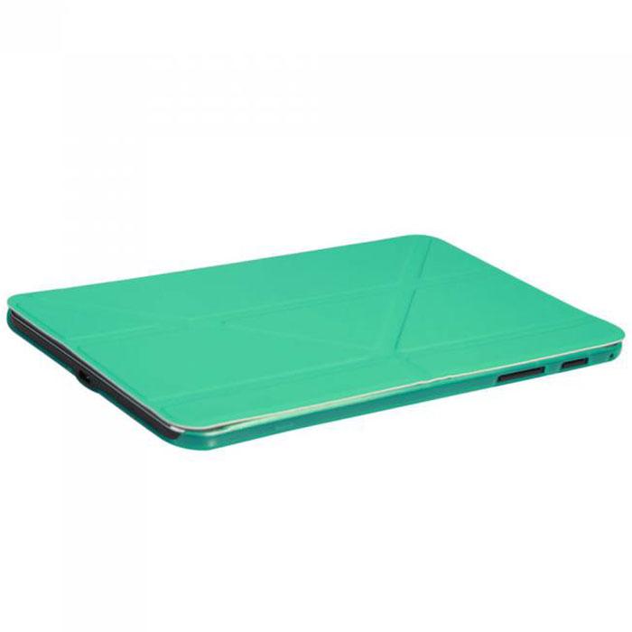 IT Baggage Hard Case чехол для Samsung Galaxy Tab 4 8, TurquoiseITSSGT4801-6Чехол IT Baggage Hard Case для Samsung Galaxy Tab 4 8 - это стильный и лаконичный аксессуар, позволяющий сохранить планшет в идеальном состоянии. Надежно удерживая технику, обложка защищает корпус и дисплей от появления царапин, налипания пыли. Также чехол IT Baggage для Samsung Galaxy Tab 4.8 можно использовать как подставку для чтения или просмотра фильмов. Имеет прозрачную заднюю крышку и свободный доступ ко всем разъемам устройства.