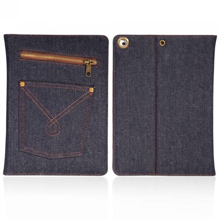 IT Baggage Jeans чехол для iPad Air 9.7, Black BlueITIPAD508-3Чехол IT Baggage Jeans для iPad Air 9.7- это стильный и лаконичный аксессуар, позволяющий сохранить планшет в идеальном состоянии. Надежно удерживая технику, обложка защищает корпус и дисплей от появления царапин, налипания пыли. Также чехол IT Baggage для Jeans для iPad Air 9.7 можно использовать как подставку для чтения или просмотра фильмов. Имеет свободный доступ ко всем разъемам устройства.