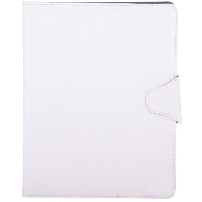 IT Baggage универсальный чехол для планшета 9.7, WhiteITUNI97-0Универсальный чехол IT Baggage для планшетов с диагональю 9.7 - это стильный и лаконичный аксессуар, позволяющий сохранить гаджет в идеальном состоянии. Надежно удерживая технику, обложка защищает корпус и дисплей от появления царапин, налипания пыли. Также чехол IT Baggage можно использовать как подставку для чтения или просмотра фильмов. Имеет свободный доступ ко всем разъемам устройства.