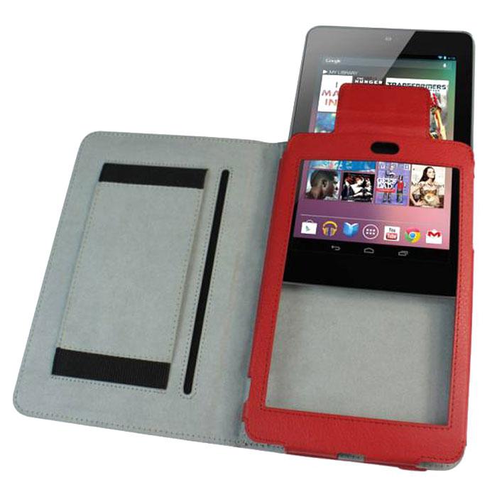 IT Baggage чехол для Asus Nexus 7, RedITASNX704-3Чехол IT Baggage для Asus Nexus 7 - это стильный и лаконичный аксессуар, позволяющий сохранить планшет в идеальном состоянии. Надежно удерживая технику, обложка защищает корпус и дисплей от появления царапин, налипания пыли. Имеет свободный доступ ко всем разъемам устройства.