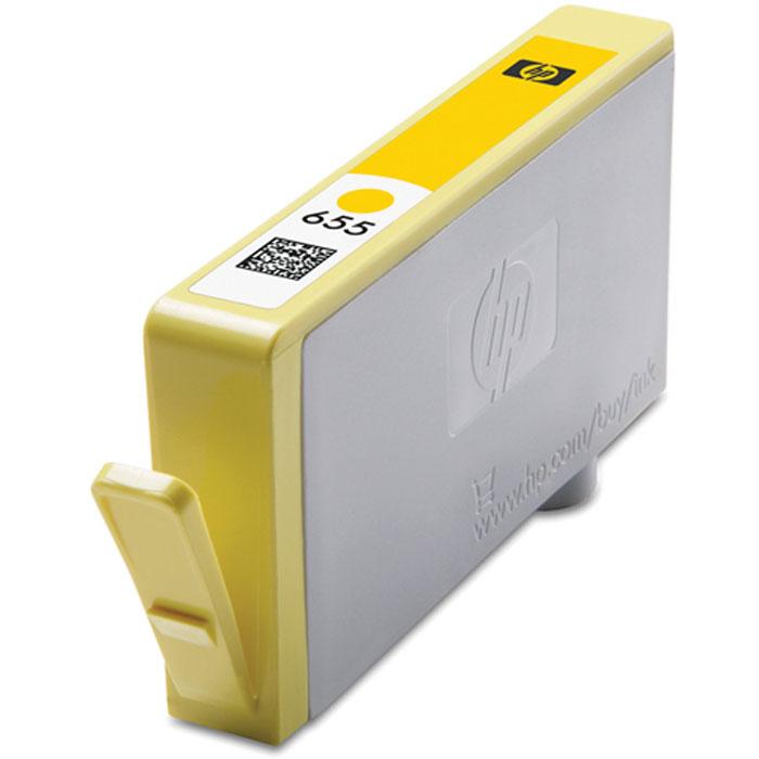 HP CZ112AE (655), Yellow струйный картриджCZ112AEПроизводите высококачественные маркетинговые материалы и фотографии с яркими цветами и четкой графикой,