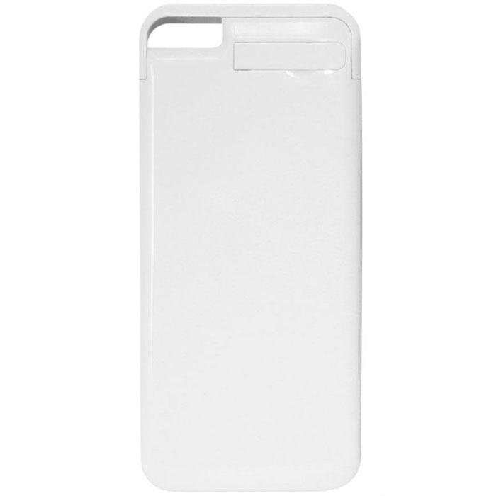 EXEQ HelpinG-iC05 чехол-аккумулятор для iPhone 5/5s, White (2300 мАч, клип-кейс)HelpinG-iC05 WHЭлегантный дизайн, надежная защита и своевременная подзарядка смартфона - что еще нужно для идеального чехла к вашему iPhone? Exeq HelpinG-iС05 - сполна отвечает всем этим требованиям! Специальная конструкция чехла с выдвижной верхней частью позволит быстро поместить устройство в чехол. Компактный дизайн Exeq HelpinG-iC05 совсем не значительно увеличит габариты самого смартфона и даже его вес, но при этом обеспечит идеальную защиту задней поверхности и боковин телефона от царапин и загрязнений. Но самое главное встроенный аккумулятор позволит увеличить часы работы вашего смартфона в 2 раза! Еще больше разговоров, музыки и интернет-серфинга на вашем любимом iPhone!Зарядка Exeq HelpinG-iC05 происходит от зарядного устройства телефона и при этом телефон не обязательно извлекать из чехла. Достаточно просто подключить зарядное устройство к чехлу и начнется зарядка чехла-аккумулятора. Для зарядки телефона при подключении зарядного устройства необходимо нажать кнопку питания на чехле. Приятным дополнением чехла Exeq HelpinG- iC05 также является наличие встроенной подставки, которая сможет поддерживать ваш смартфон в горизонтальном положении, например, для просмотра фильма.Время зарядки чехла: 2,5 часаПодставкаТип конструкции: клип-кейсМатериал: пластик