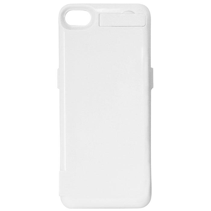 EXEQ HelpinG-iC07 чехол-аккумулятор для iPhone 5/5s, White (4300 мАч, USB-порт, клип-кейс)HelpinG-iC07 WHExeq HelpinG-iС07 – чехол, оснащенный встроенным аккумулятором, который позволит значительно увеличить часы работы вашего смартфона! Обеспечивая своевременную подзарядку Exeq HelpinG-iC07 также обеспечит и надежную защиту вашему смартфону. Удобный и лаконичный дизайн позволяет не только быстро и удобно помещать телефон в чехол, но и надежно защитить заднюю поверхность телефона от загрязнений и царапин даже во время самой активной эксплуатации устройства. Также мощной батареи чехла-аккумулятора хватит и для подзарядки дополнительных электронных устройств, для чего чехол оснащен USB-портом. Для удобства пользования смартфоном чехол снабжен встроенной подставкой – она позволит надежно закрепить телефон в горизонтальном положении для комфортного просмотра видео, чтения электронных книг или общения по скайпу. Заряжается чехол-аккумулятор Exeq HelpinG-iC07 от зарядного устройства телефона, причем заряжать оба устройства можно не извлекая телефон из чехла. Так для зарядки телефона просто подсоедините зарядное устройства к чехлу и нажмите кнопку питания на чехле, а для зарядки чехла просто подсоедините зарядное устройство к нему.