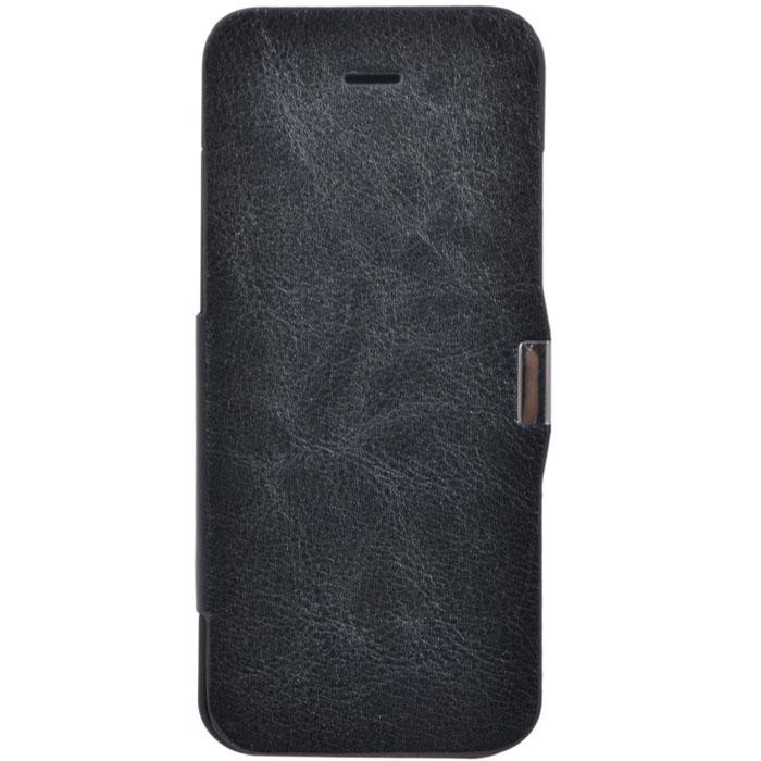 EXEQ HelpinG-iF03 чехол-аккумулятор для iPhone 5/5s/5c, Black (2300 мАч, флип-кейс)HelpinG-iF03 BLExeq HelpinG-iF03 имеет откидную крышку для надежной защиты экрана. С Exeq HelpinG-iF03 вы получите не только надежный защитный чехол, но и яркий аксессуар, идеально подходящий под цветовую гамму вашего iPhone. А с помощью встроенного аккумулятора вы сможете еще дольше наслаждаться широкими возможностями своего смартфона – чехол-аккумулятор Exeq HelpinG-iF03 сможет увеличить часы автономной работы вашего смартфона в два раза! Слушайте любимые мелодии, просматривайте популярные видеоролики, общайтесь в соцсетях и забудьте о постоянно разряжающейся батарее! Зарядка чехла-аккумулятора Exeq HelpinG-iF03 происходит аналогично зарядке телефона – от зарядного устройства телефона. Причем при любой зарядке телефон из чехла извлекать не нужно. Просто подключите зарядное устройство от телефона к чехлу и нажмите кнопку питания на чехле – телефон начнет заряжаться. Если кнопу питания не нажимать – начнется зарядка чехла.