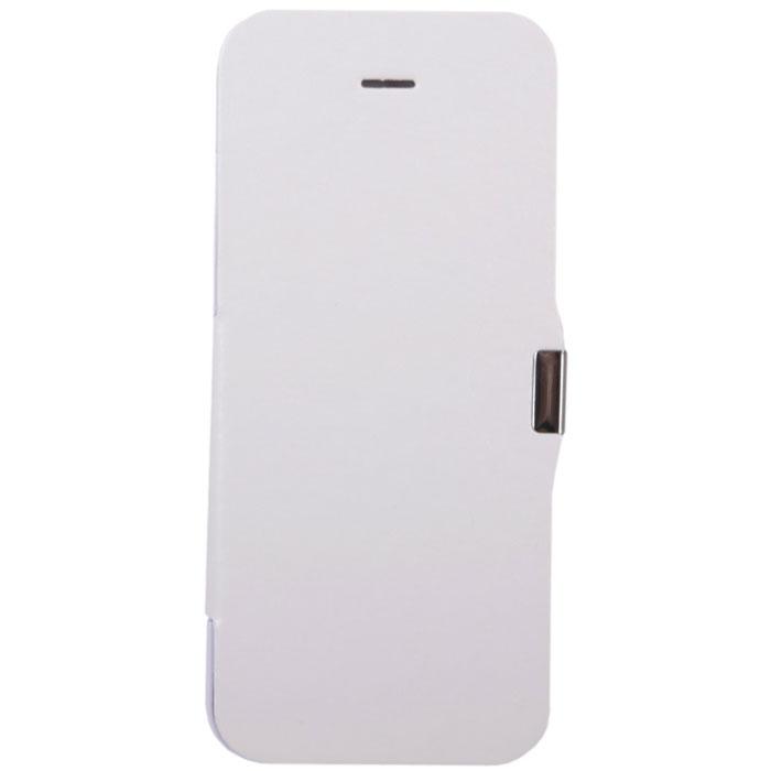 EXEQ HelpinG-iF03 чехол-аккумулятор для iPhone 5/5s/5c, White (2300 мАч, флип-кейс)HelpinG-iF03 WHExeq HelpinG-iF03 имеет откидную крышку для надежной защиты экрана. С Exeq HelpinG-iF03 вы получите не только надежный защитный чехол, но и яркий аксессуар, идеально подходящий под цветовую гамму вашего iPhone. А с помощью встроенного аккумулятора вы сможете еще дольше наслаждаться широкими возможностями своего смартфона – чехол-аккумулятор Exeq HelpinG-iF03 сможет увеличить часы автономной работы вашего смартфона в два раза! Слушайте любимые мелодии, просматривайте популярные видеоролики, общайтесь в соцсетях и забудьте о постоянно разряжающейся батарее! Зарядка чехла-аккумулятора Exeq HelpinG-iF03 происходит аналогично зарядке телефона – от зарядного устройства телефона. Причем при любой зарядке телефон из чехла извлекать не нужно. Просто подключите зарядное устройство от телефона к чехлу и нажмите кнопку питания на чехле – телефон начнет заряжаться. Если кнопу питания не нажимать – начнется зарядка чехла.