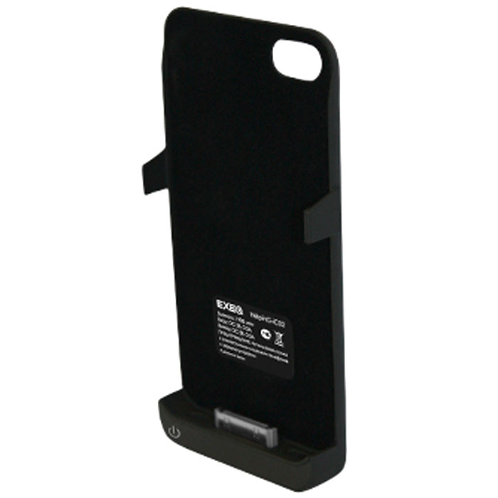 EXEQ HelpinG-iC02 чехол-аккумулятор для iPhone 4/4S, Black (1900 мАч, клип-кейс)HelpinG-iC02 BLExeq HelpinG-iC02 - уникальное устройство, идеально сочетающее в себе дополнительную батарею для iPhone 4S и 4 и компактный пластиковый чехол. Благодаря специальной конструкции HelpinG-iC02 прекрасно защитит заднюю панель смартфона от загрязнений и царапин, а благодаря встроенному аккумулятору позволит увеличить время работы вашего смартфона в 2 раза! Конструкция чехла-аккумулятора выполнена в миниатюрном форм-факторе - надежная защита задней панели и удачное боковое крепление смартфона в чехле. Благодаря такой конструкции и небольшому весу чехол не значительно увеличит габариты вашего смартфона, но при этом обеспечит его второй батареей. Exeq HelpinG-iC02 станет просто незаменимым аксессуаром для самых активных пользователей смартфонов и для тех, кто много времени проводит в дороге. Для зарядки телефона от сети, его совсем не нужно извлекать из чехла HelpinG-iC02 - просто подсоедините зарядное устройство от телефона к чехлу и нажмите кнопку питания на чехле - телефон начнет заряжаться. Если кнопку питания не нажимать, то будет происходить зарядка чехла-аккумулятора. Уровень заряда чехла-аккумулятора демонстрируется при помощи четырех индикаторов заряда.Время зарядки чехла: 2,2 часаИндикатор заряда батареиПодставкаТип конструкции: клип-кейсМатериал: пластик