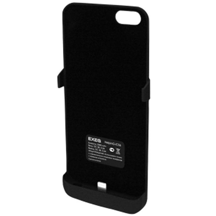 EXEQ HelpinG-iC06 чехол-аккумулятор для iPhone 5/5s, Black (2300 мАч, клип-кейс)HelpinG-iC06 BLЭлегантный и лаконичный дизайн Exeq HelpinG-iС06 практически полностью повторяет дизайн iPhone 5S и 5, благодаря чему чехол идеально одевается на телефон и совсем незначительно увеличивает его габаритные размеры и вес. Поместив свой смартфон в чехол-аккумулятор Exeq HelpinG- iC06, вы почти не будете его ощущать, но при этом получите надежную защиту своего смартфона и своевременную подзарядку. Чехол Exeq HelpinG- iC06 оснащен встроенным аккумулятором, благодаря чему время работы вашего смартфона увеличится в два раза! Слушайте любимые мелодии, смотрите сериалы, бороздите просторы интернета - с Exeq HelpinG- iC06 ваш смартфон сможет в два раза больше!Зарядка чехла-аккумулятора Exeq HelpinG- iC06 происходит аналогично зарядке телефона - от зарядного устройства телефона. Причем при любой зарядке телефон из чехла извлекать не нужно. Просто подключите зарядное устройство от телефона к чехлу и нажмите кнопку питания на чехле - начнется зарядка телефона. Если кнопу питания не нажимать - начнется зарядка чехла-аккумулятора.Время зарядки чехла: 2,5 часаТип конструкции: клип-кейсМатериал: пластик