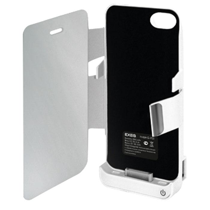 EXEQ HelpinG-iF02 чехол-аккумулятор для iPhone 4/4S, White (3300 мАч, USB-порт, флип-кейс)HelpinG-iF02 WHНаслаждайтесь всеми возможностями iPhone без ограничений с чехлом-аккумулятором Exeq HelpinG-iF02! Стильный и компактный чехол поможет надежно защитить ваш любимый смартфон от загрязнений, царапин и прочих повреждений, а встроенный аккумулятор позволит продлить часы работы смартфона в несколько раз! Смотрите видео, слушайте музыку или бесконечно долго разговаривайте по телефону - с Exeq HelpinG-iF02 ваш смартфон сможет многое! Также емкости чехла-аккумулятора хватит и на подзарядку дополнительных электронных устройств - специально для этого устройство оборудовано USB-портом. Благодаря компактным размерам и небольшому весу чехол-аккумулятор совсем незначительно увеличивает габариты смартфона и соответственно вес. Exeq HelpinG-iF02 станет прекрасным аксессуаром для тех, кто много пользуется смартфоном, а подзаряжать его забывает. Компактные размеры и надежная защита Exeq HelpinG-iF02 позволят вам не расставаться с данным аксессуаром ни при каких обстоятельствах - зарядка как чехла так и телефона происходит непосредственно от зарядного устройства телефона и при этом телефон не нужно извлекать из чехла.Время зарядки чехла: 3,4 часаДополнительные особенности: подставка, USB-портТип конструкции: флип-кейсМатериал: пластик